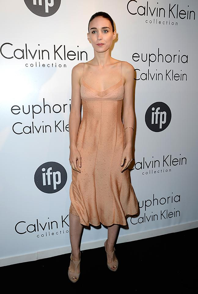 CANNES, FRANCE - MAY 16:  Actress Rooney Mara attends the The IFP, Calvin Klein Collection & Euphoria Calvin Klein Celebrate Women In Film At The 66th Cannes Film Festival on May 16, 2013 in Cannes, France.  (Photo by Pascal Le Segretain/Getty Images for Calvin Klein)