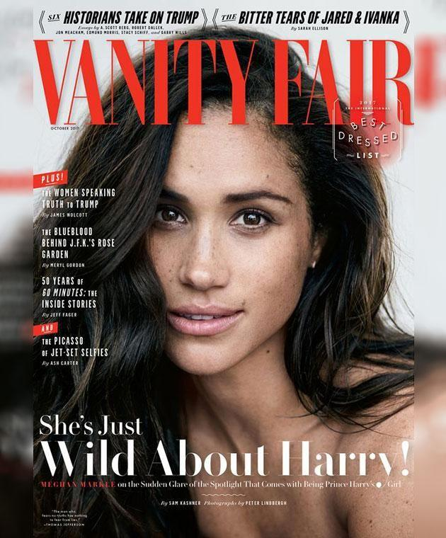 He says it was a mistake for Meghan to open up in Vanity Fair. Photo: Peter Lindbergh/Vanity Fair