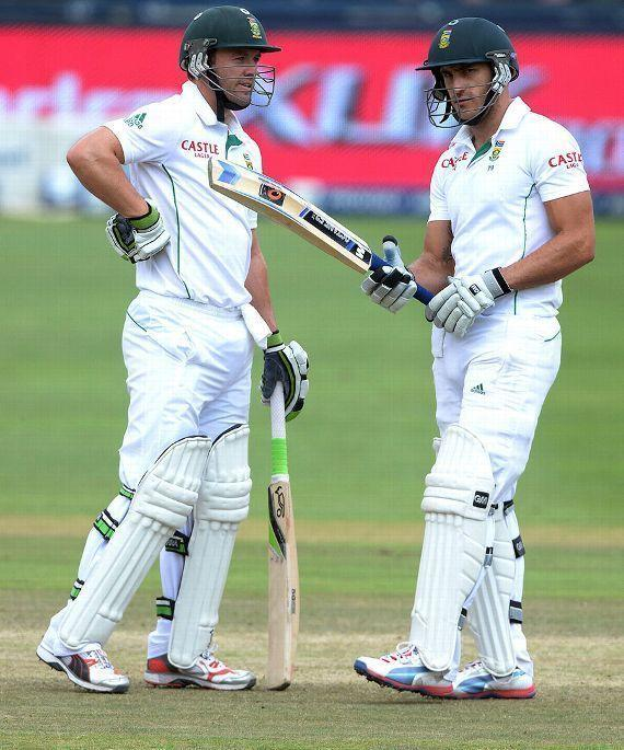 Ab de Villiers and Faf du Plessis played a total of 770 balls in the 2012 historic Adelaide Test