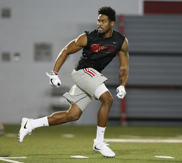Ohio State CB Gareon Conley appears to be a first-round pick. (AP)