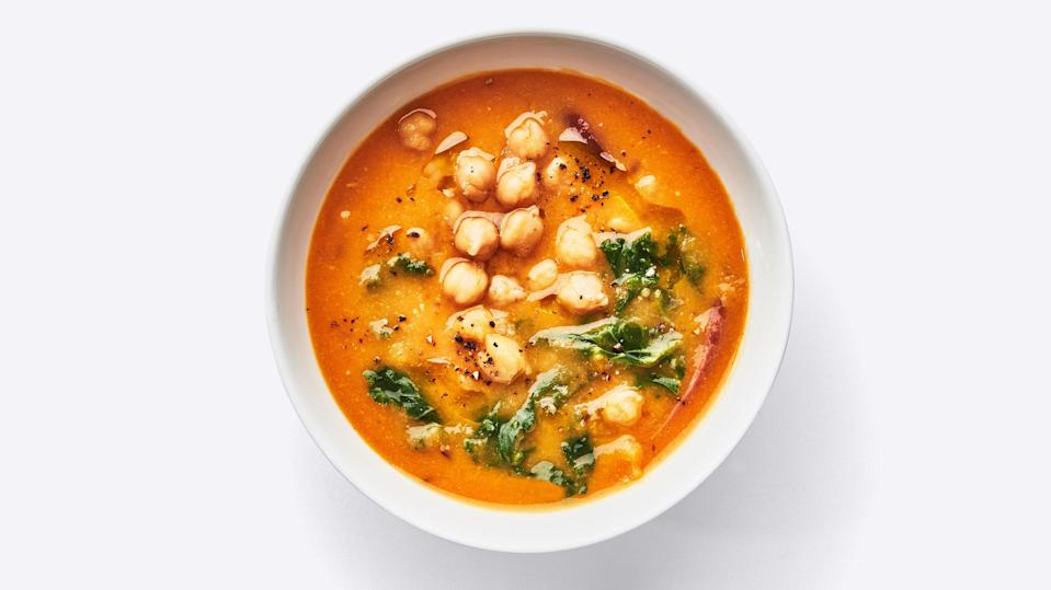"<a href=""https://www.bonappetit.com/recipe/hammy-chickpea-soup?mbid=synd_yahoo_rss"" rel=""nofollow noopener"" target=""_blank"" data-ylk=""slk:See recipe."" class=""link rapid-noclick-resp"">See recipe.</a>"