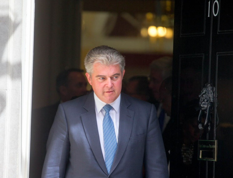 Immigration minister Brandon Lewis confirmed the end of free movement once Britain leaves the EU (Rex)