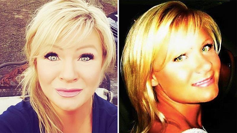 Police officers had been to Christy Sheats' home