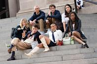 "<p>It's 2020, and <a href=""https://www.elle.com/culture/movies-tv/a34641679/gossip-girl-reboot-cast-the-met-photos/"" rel=""nofollow noopener"" target=""_blank"" data-ylk=""slk:Gossip Girl is back"" class=""link rapid-noclick-resp""><em>Gossip Girl</em> is back</a>. There's a brand-new cast and generation on the Upper East Side, and they've got a collective fashion sense that would surely be the envy of Blair Waldorf and Serena van der Woodsen. In the middle of a pandemic, it is pretty comforting to see all the bright colors out on the streets of Manhattan, during a year when going outside and dressing up has hardly been a focus. </p><p>If you take a look at the <a href=""https://www.imdb.com/title/tt10653784/"" rel=""nofollow noopener"" target=""_blank"" data-ylk=""slk:IMDB page"" class=""link rapid-noclick-resp"">IMDB page </a>for the show, there is only one character in this new friend group named, Emily Alyn Lind's character, Audrey. Jordan Alexander and Whitney Peak are apparently the other two main characters featured in the new collection of private-school New Yorkers. <a href=""https://deadline.com/2020/03/gossip-girl-emily-alyn-lind-cast-star-reboot-series-hbo-max-1202871912/"" rel=""nofollow noopener"" target=""_blank"" data-ylk=""slk:According to Deadline"" class=""link rapid-noclick-resp"">According to Deadline</a>, Audrey (Lind) ""has been in a long term relationship and is beginning to wonder what more could be out there."" </p><p>The first season, which is expected to have 10 episodes, is also supposedly pretty queer, <a href=""https://www.out.com/television/2020/11/11/new-queer-gossip-girl-series-shows-cast-first-look"" rel=""nofollow noopener"" target=""_blank"" data-ylk=""slk:per Out magazine"" class=""link rapid-noclick-resp"">per <em>Out </em>magazine</a>. </p><p>""How much homoeroticism can I expect from it?""<a href=""https://twitter.com/Anthologist/status/1317643152325550080?s=20"" rel=""nofollow noopener"" target=""_blank"" data-ylk=""slk:one fan tweeted"" class=""link rapid-noclick-resp""> one fan tweeted </a>at Joshua Safran, the show's executive producer and showrunner. He responded: ""Well, considering we have many queer characters, a lot?"" He added: ""There was not a lot of representation the first time around on the show. I was the only gay writer I think the entire time I was there. This time around the leads are nonwhite. There's a lot of queer content on this show. It is very much dealing with the way the world looks now, where wealth and privilege come from, and how you handle that. The thing I can't say is there is a twist, and that all relates to the twist.""</p><p>You can see this queerness clearly in the fashion these new characters wear on the steps of the Met, as we welcome in a new age of gossip, scandal, and teens. </p>"