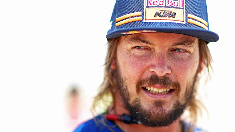Australian rider Toby Price has described the scene he encountered after fellow Dakar Rally competitor Paulo Goncalves, who died after an accident on stage seven. (Photo by Dean Mouhtaropoulos/Getty Images)