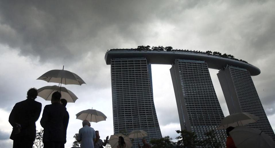 Thundery afternoon showers are to be expected in Singapore. (Photo: Yahoo Magazines)