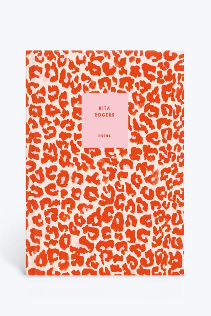 """<p><strong>Papier</strong></p><p>papier.com</p><p><strong>$22.94</strong></p><p><a href=""""https://www.papier.com/us/leopard-print-23707"""" rel=""""nofollow noopener"""" target=""""_blank"""" data-ylk=""""slk:SHOP IT"""" class=""""link rapid-noclick-resp"""">SHOP IT</a></p><p>Papier's customized leopard print notebook encourages daily journaling on lunch breaks for a little stress relief. (Yes, you should still take your lunch breaks!) </p>"""