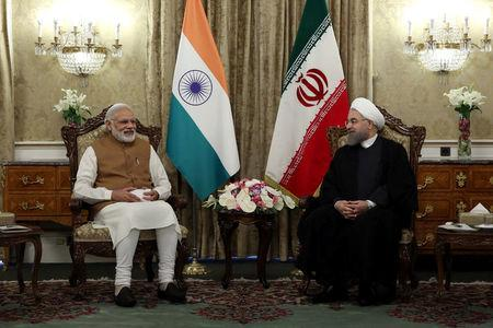Iran 39 S President Han Rouhani Meets India Prime Minister