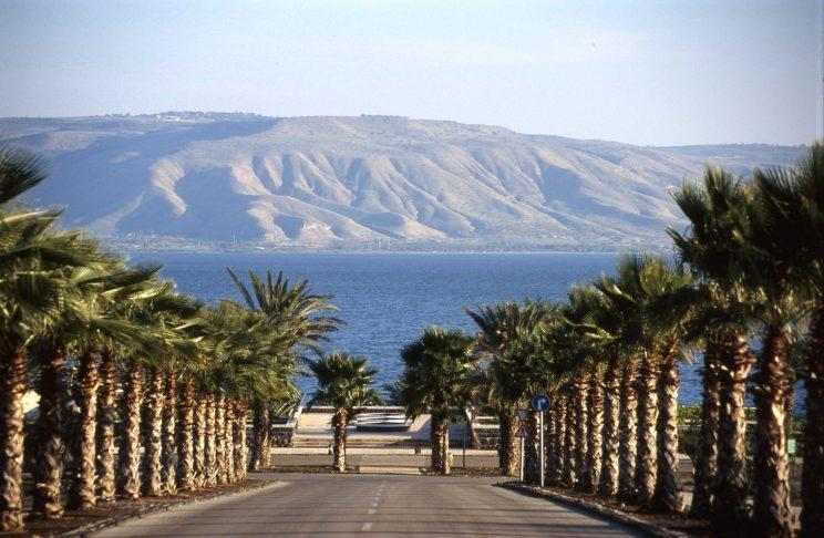 Sea of Galilee, looking east to Golan Heights (Credit: Israeli Ministry of Tourism)