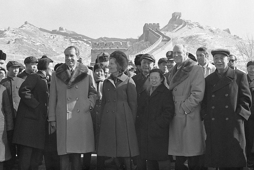 <p>President Richard Nixon made history when he visited what was then known as The People's Republic of China in the winter of 1972. The week-long excursion gave the American people the first glimpse into the reclusive Chinese state since its adoption of communism in 1949.</p>