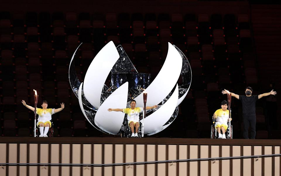 paralympics opening ceremony 2021 live updates tokyo 2020 - GETTY IMAGES
