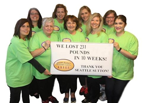 Seattle Sutton's Healthy Eating Helps Nine Slim Down Contestants Lose 231 Pounds in 10 Weeks