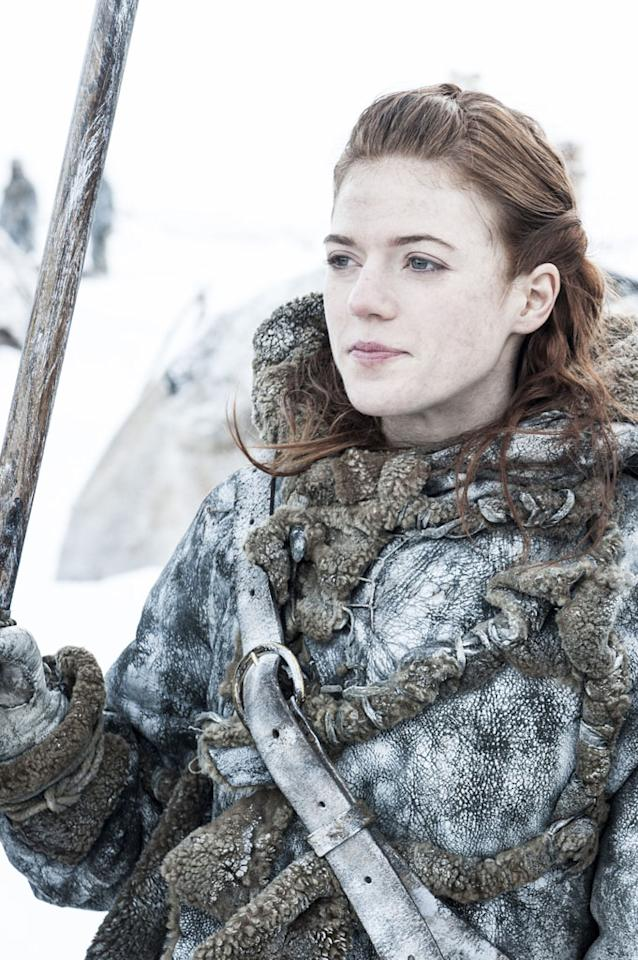 "Rose Leslie in the ""Game of Thrones"" Season 3 premiere, ""Valar Dohaeris."""