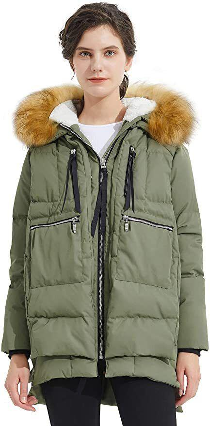"""Yes, this is THE Amazon jacket — the one made famous by everyone and their mother buying because, well, it's that good. This numberwill keep you warm and stylish through every temperature drop and snowstorm winter throws your way.<strong><br /><br />Promising review:</strong>""""THE COAT is the most comfortable coat I've ever owned! It's very warm but not super heavy.<strong>I was surprised by how light the coat felt and how warm it kept me. I also love how long it is!</strong>The hood is attached and lined with the softest and comfy Sherpa type material. There are several pockets with zippers to keep a beanie, my phone and whatever else I need so I don't have to carry a purse. I ordered both small and XS, and both fit me but I ended up keeping the small because I like my coats to have a little room to layer underneath and my sleeves to be longer. This is the best coat I've ever owned!"""" —<a href=""""https://amzn.to/2Q8PcDU"""" target=""""_blank"""" rel=""""nofollow noopener noreferrer"""" data-skimlinks-tracking=""""5753950"""" data-vars-affiliate=""""Amazon"""" data-vars-href=""""https://www.amazon.com/gp/customer-reviews/RL52PL5PVJYVF?tag=bfabby-20&ascsubtag=5753950%2C11%2C30%2Cmobile_web%2C0%2C0%2C0"""" data-vars-keywords=""""cleaning,fast fashion"""" data-vars-link-id=""""0"""" data-vars-price="""""""" data-vars-retailers=""""Amazon"""">Toni Wheaton</a><br /><br /><strong>Get it from Amazon for<a href=""""https://amzn.to/3doDQVb"""" target=""""_blank"""" rel=""""nofollow noopener noreferrer"""" data-skimlinks-tracking=""""5753950"""" data-vars-affiliate=""""Amazon"""" data-vars-asin=""""B07BV6V4HL"""" data-vars-href=""""https://www.amazon.com/dp/B07BV6V4HL?tag=bfabby-20&ascsubtag=5753950%2C11%2C30%2Cmobile_web%2C0%2C0%2C15974120"""" data-vars-keywords=""""cleaning,fast fashion"""" data-vars-link-id=""""15974120"""" data-vars-price="""""""" data-vars-product-id=""""17936221"""" data-vars-product-img=""""https://m.media-amazon.com/images/I/41iVuxcHHML.jpg"""" data-vars-product-title=""""Orolay Women's Thickened Down Jacket"""" data-vars-retailers=""""Amazon"""">$149.99</a>(available in sizes XXS-5X and in 13"""