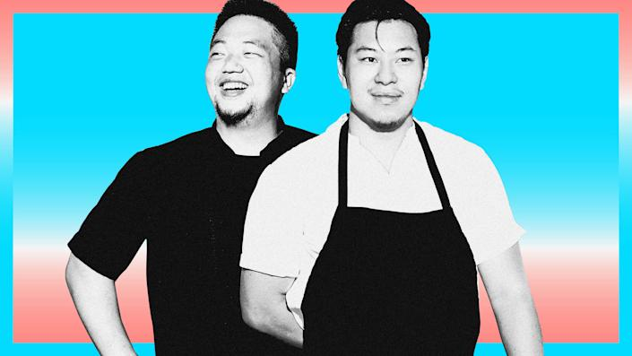 Left to right: Eric Sze and Lucas Sin (Photo: ILLUSTRATION: YENWEI LIU/HUFFPOST; PHOTOS: ALEX LAU)