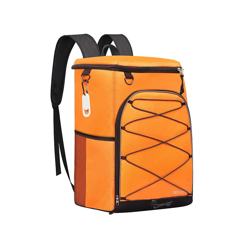 Seehonor Insulated Cooler Backpack. (Photo: Amazon)