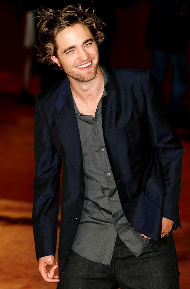 "Robert Pattinson, ""Twilight's"" leading man, is a polarizing figure thanks to his wild mane. What do you think? Hot or not? Elisabetta A. Villa/<a href=""http://www.wireimage.com"" target=""new"">WireImage.com</a> - October 30, 2008"