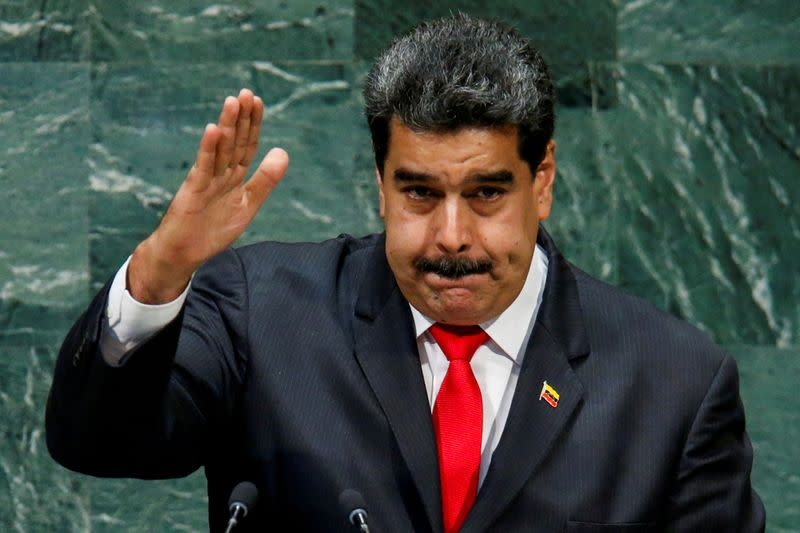 FILE PHOTO: FILE PHOTO: Venezuela's President Maduro addresses the General Assembly in New York