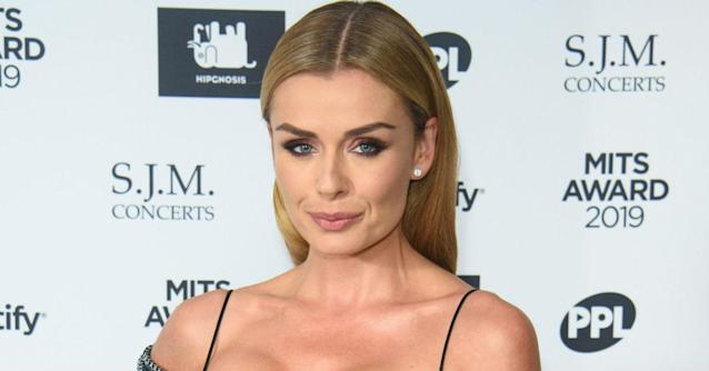Katherine Jenkins stepped in to try to help an elderly lady who was being attacked (Getty)