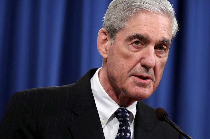 Former special counsel Robert Mueller found that Trump's campaign welcomed and expected to benefit electorally from information stolen and released through Russian efforts (AFP Photo/CHIP SOMODEVILLA)