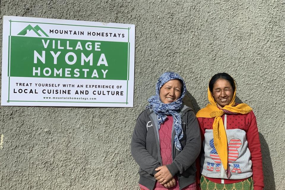 GHE is using the lockdown period to invest in infrastructure and training of the local women homestay owners