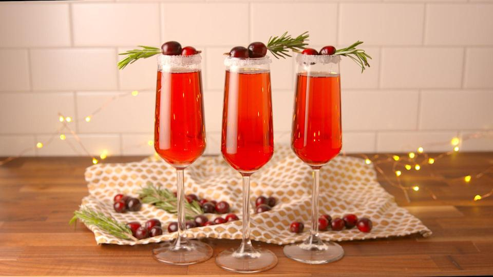 "<p>Spread holiday cheer by toasting it up, cranberry style. Nope, we're not talking vodka crans ... we've got cranberry mimosas, cranberry mules, and jingle juice to indulge in. Need more happy hour inspiration? Try one of our <a href=""https://www.delish.com/cooking/g1967/fall-cocktails-recipes/"" rel=""nofollow noopener"" target=""_blank"" data-ylk=""slk:perfect-for-fall cocktails"" class=""link rapid-noclick-resp"">perfect-for-fall cocktails</a>.</p>"