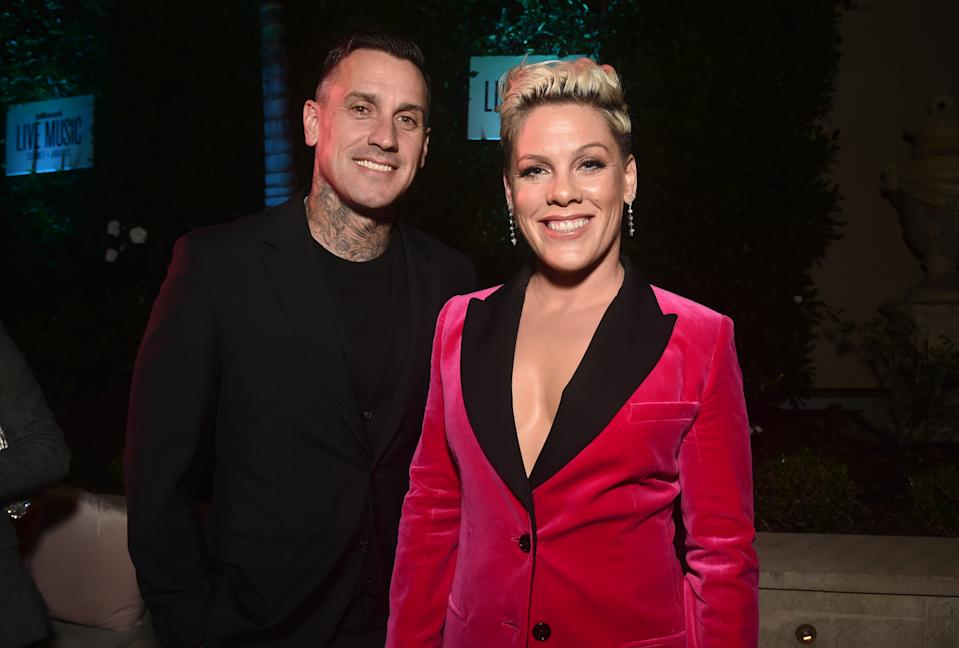 Pink and Carey Hart have been married for 14 years. (Photo: Alberto E. Rodriguez/Getty Images)