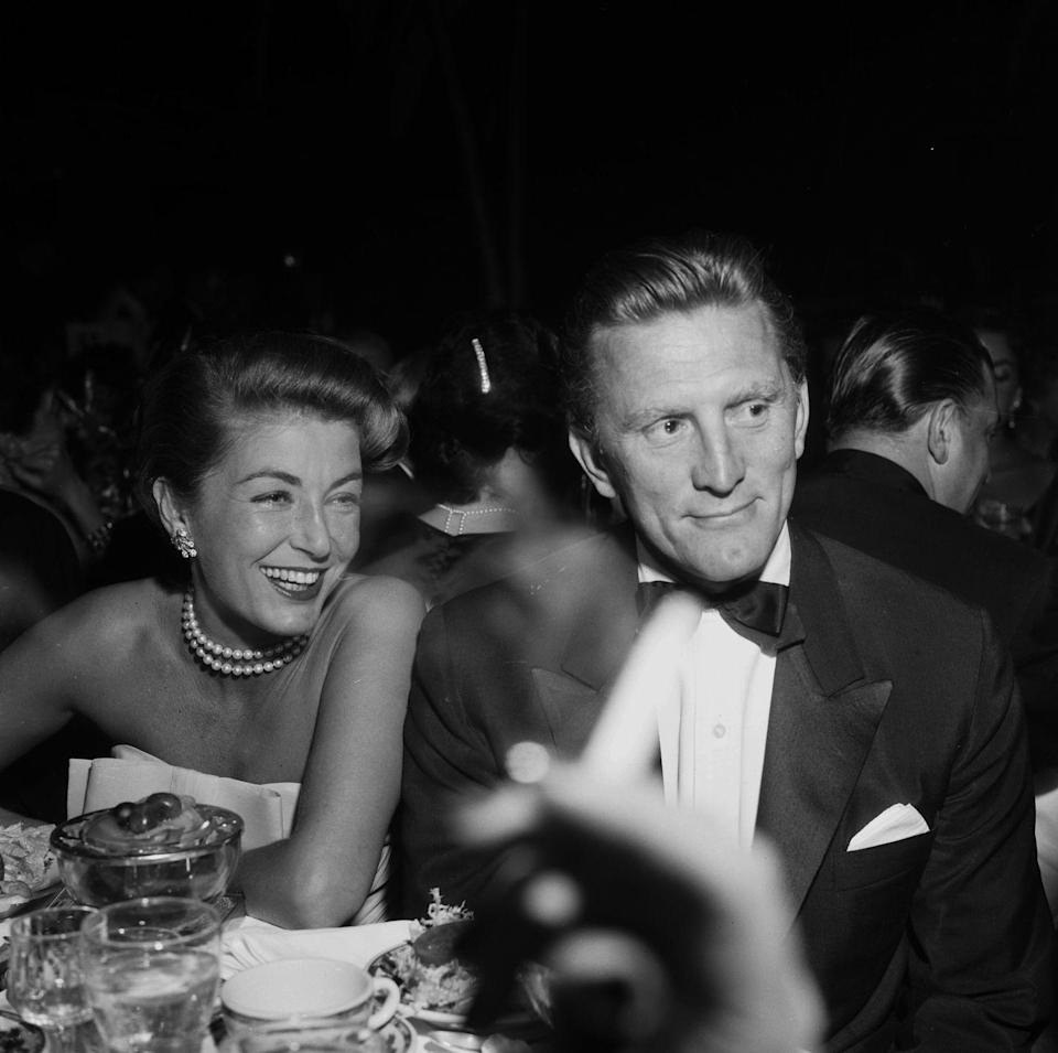 <p>Douglas and his second wife Anne Buydens were married for 65 years. </p>