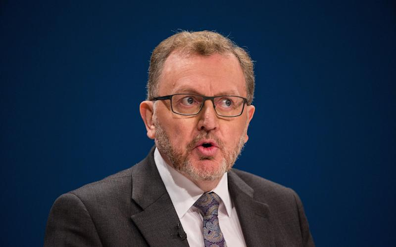 David Mundell, the Scottish Secretary - Credit: James Gourley/REX/Shutterstock