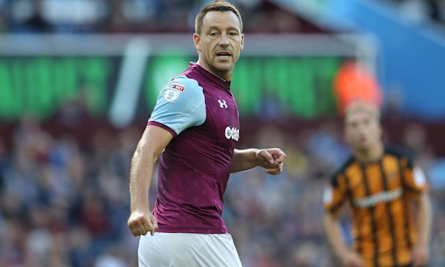 John Terry has started 32 league games for Aston Villa this season.