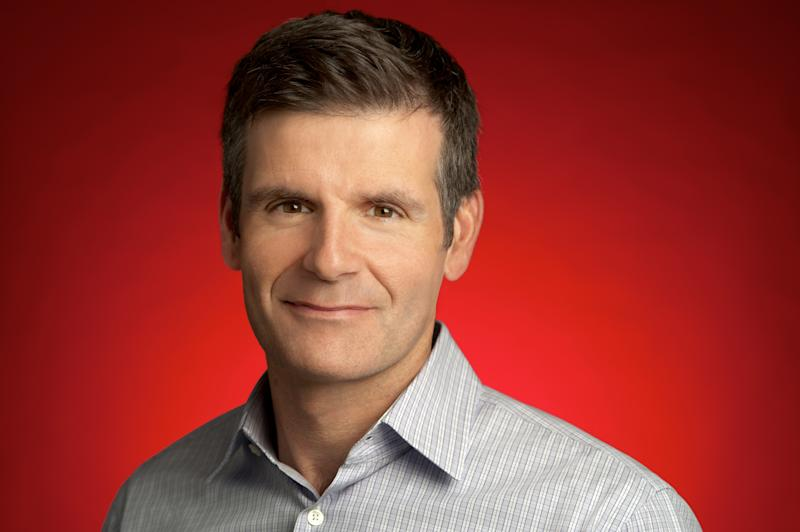 This undated photo provided by Motorola shows newly appointed CEO Dennis Woodside.  Woodside was previously president of Google's Americas region. (AP Photo/Motorola)