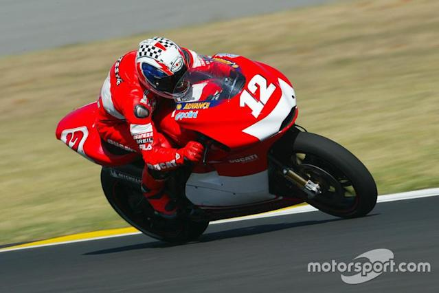 """2003. Troy Bayliss <span class=""""copyright"""">Gold and Goose / Motorsport Images</span>"""