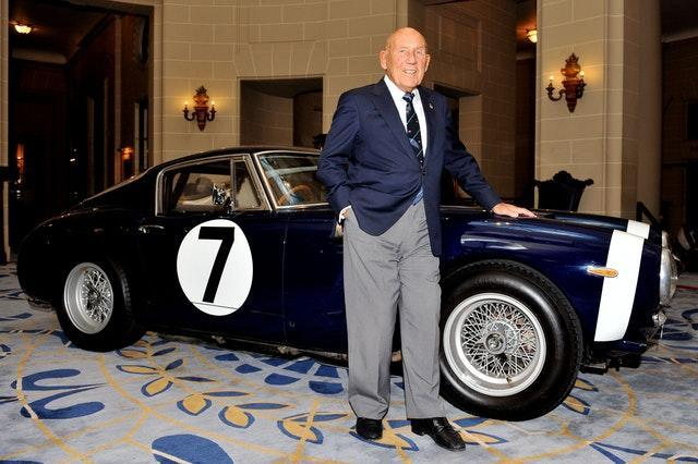 Sir Stirling Moss died aged 90 during April