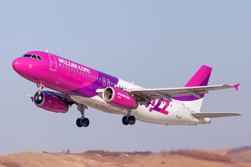 A Wizz Air passenger was fined for not wearing his face mask properly on a flight: Getty Images