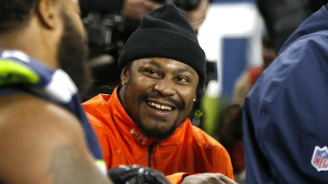 A trade will send the previously retired Marshawn Lynch from Seattle to Oakland and involve swapping late-round draft picks in 2018.