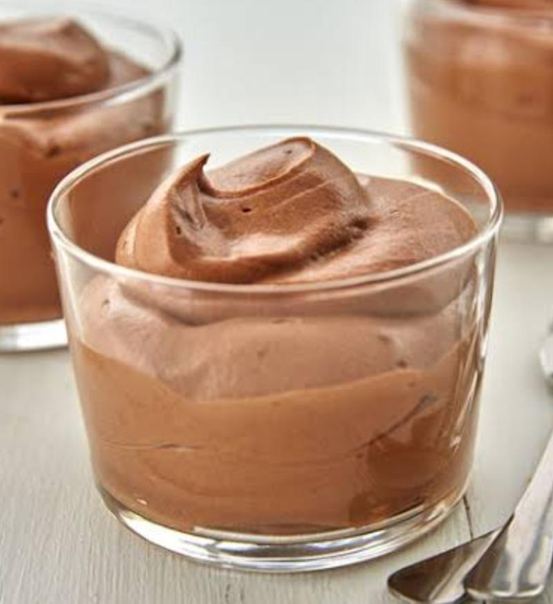 Eggless Chocolate Mousse