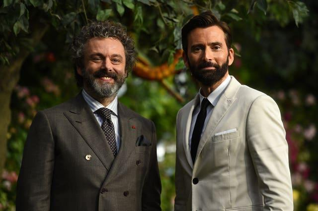 Michael Sheen and David Tennant had worked together before Staged