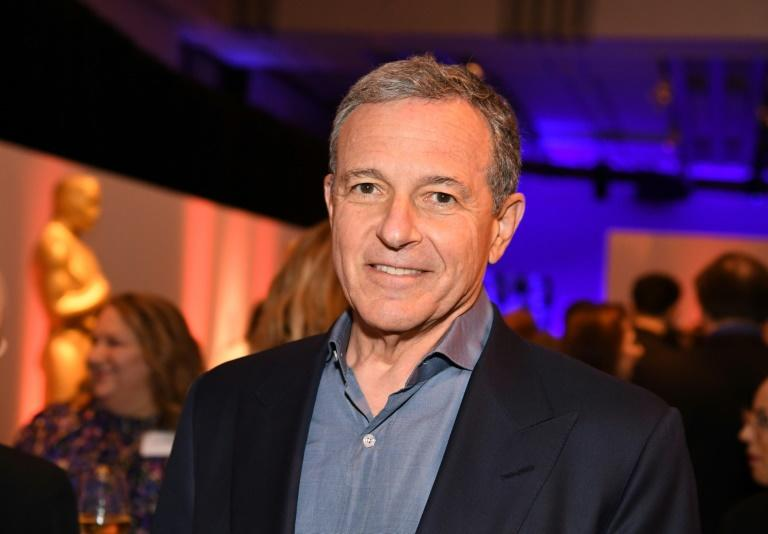 Robert Iger, who has been CEO for 15 years, will assume the role of executive chairman (AFP Photo/Robyn BECK)