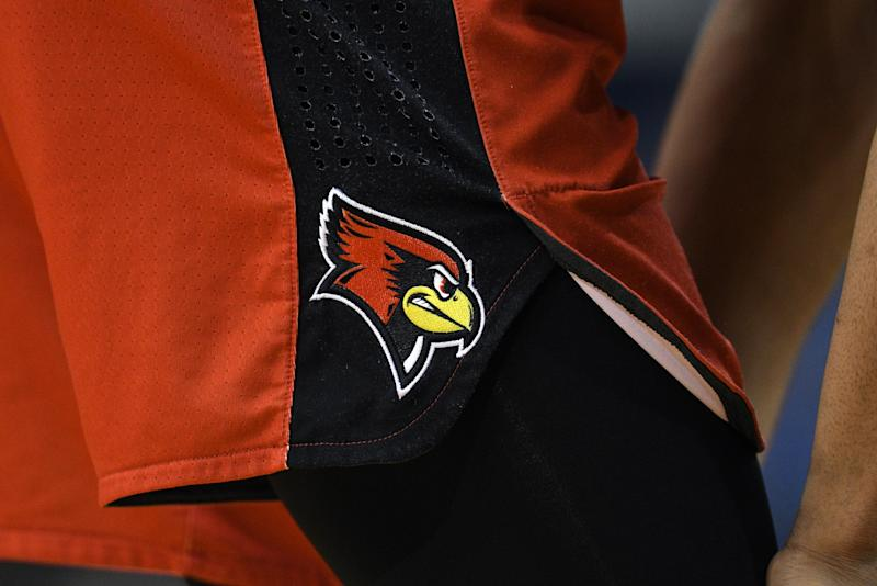 An Illinois State Redbirds logo