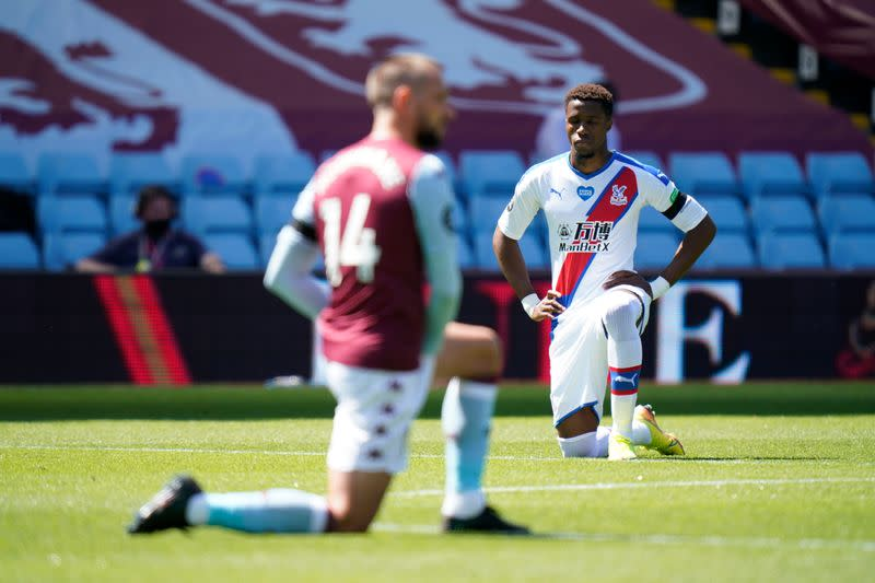 Palace's Zaha subjected to online racial abuse