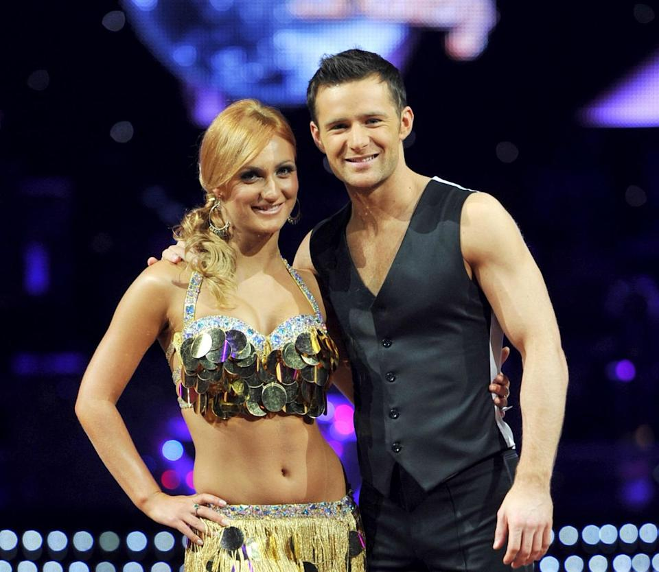 Harry won Strictly Come Dancing in 2010. Copyright: [Rex]