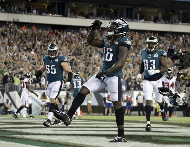 Philadelphia RB Jay Ajayi thinks the Eagles should have run the ball more against Minnesota on Sunday. On Monday, it was reported that he suffered a torn ACL and is out for the rest of the season. (AP)