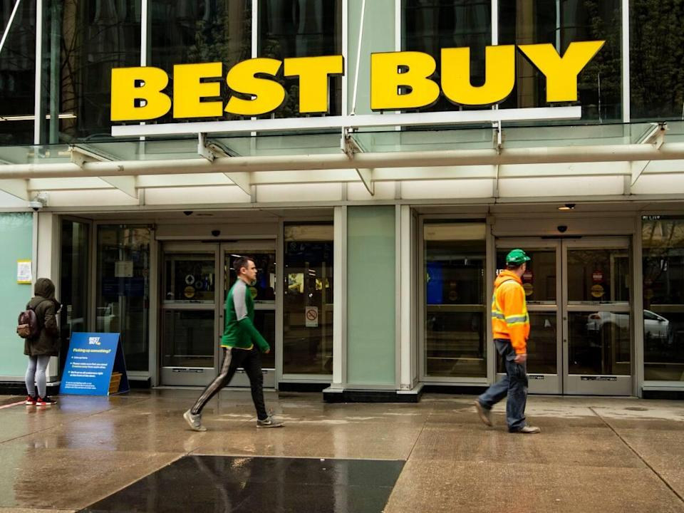 CBC's Marketplace purchased 12 refurbished devices from Best Buy's third-party seller marketplace. Five of those devices had issues, according to experts.  (Michael Wilson/CBC - image credit)