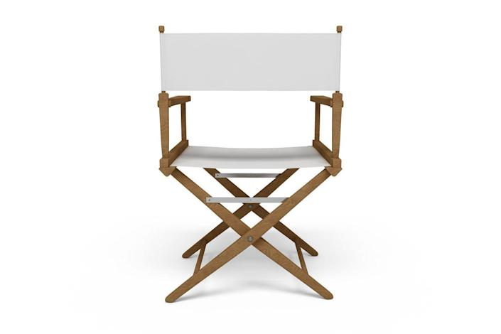 <p>With design roots tracing back to the X-shaped Roman curule seat, the Director's chair earned its current moniker for its ubiquity on film sets. Its folding nature allows it to easily be transported between locations—an adaptation taken from British Campaign and Safari furniture. </p>