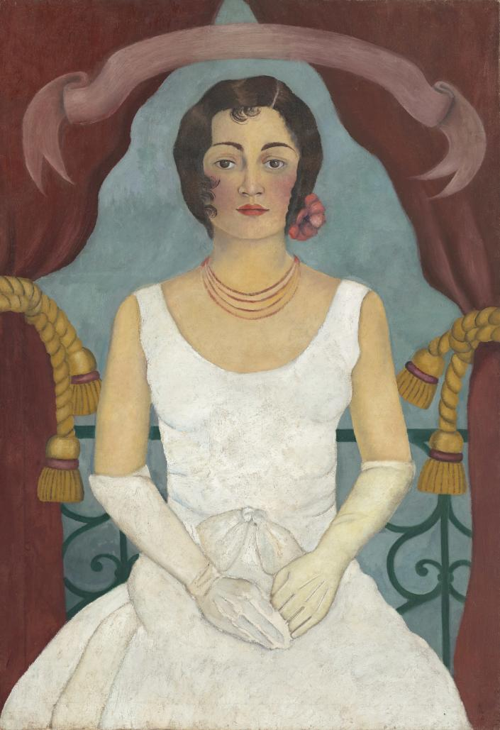 Frida Kahlo, 'Portrait of a Lady in White' (circa 1929)