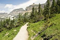 """<p>Glacier National Park (specifically the <a href=""""https://www.tripadvisor.com/Attraction_Review-g143026-d145412-Reviews-Highline_Trail-Glacier_National_Park_Montana.html"""" rel=""""nofollow noopener"""" target=""""_blank"""" data-ylk=""""slk:Highline Trail"""" class=""""link rapid-noclick-resp"""">Highline Trail</a>) should be on everyone's U.S. hiking trail bucket list. See the majestic Continental Divide in all its glory as you make your way to Haystack Pass.</p><p><br><a class=""""link rapid-noclick-resp"""" href=""""https://go.redirectingat.com?id=74968X1596630&url=https%3A%2F%2Fwww.tripadvisor.com%2FAttraction_Review-g143026-d145412-Reviews-Highline_Trail-Glacier_National_Park_Montana.html&sref=https%3A%2F%2Fwww.countryliving.com%2Flife%2Ftravel%2Fg24487731%2Fbest-hikes-in-the-us%2F"""" rel=""""nofollow noopener"""" target=""""_blank"""" data-ylk=""""slk:PLAN YOUR HIKE"""">PLAN YOUR HIKE</a></p>"""