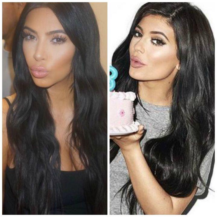 Duck lips are kind of a Kardashian specialty.