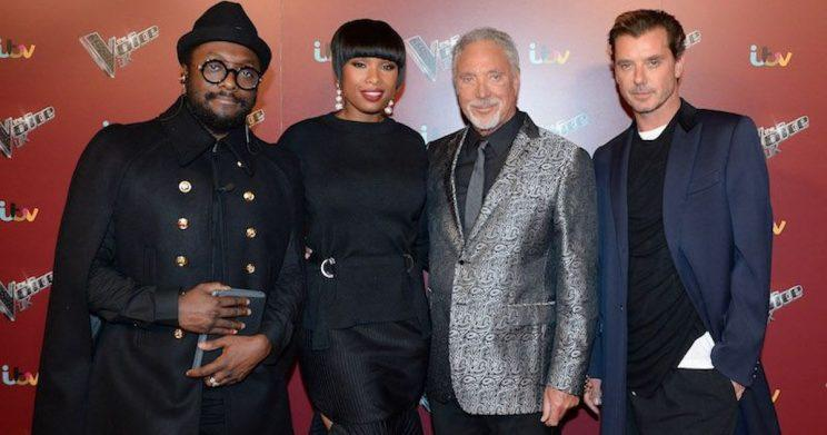 The Voice UK 2017 coaches: Will.i.am, Jennifer Hudson, Sir Tom Jones and Gavin Rossdale (Copyright: WENN)