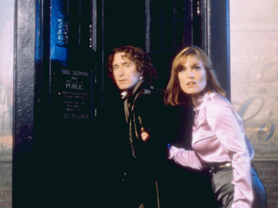 <p>Doctor hmm: Paul McGann and Daphne Ashbrook in the US reboot</p> (Universal Television/Everett Collection)