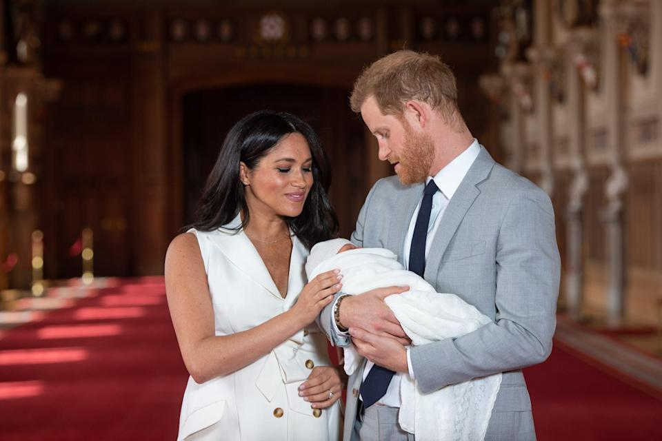 Meghan claimed a member of the royal family raised concerns about her son's potential skin colourPA Wire